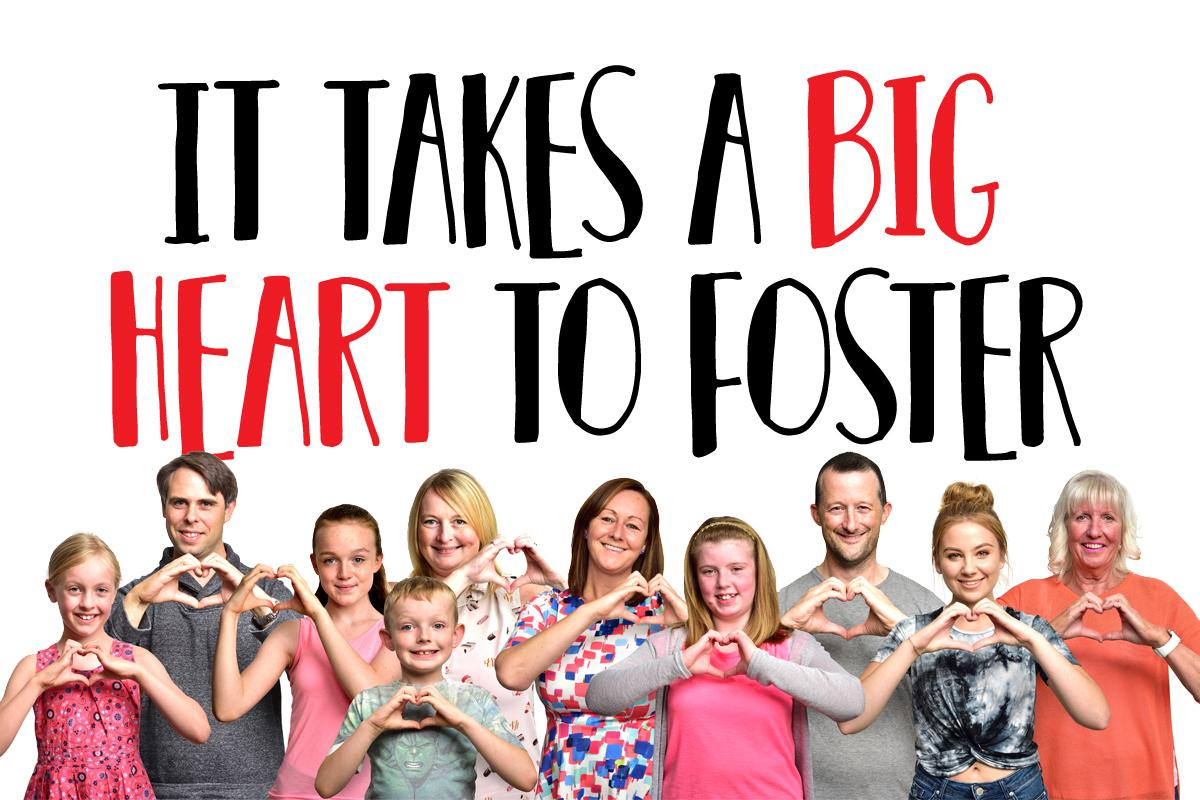 It takes a big heart to foster